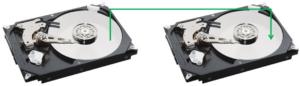 Strumentazione tecnica per copia forense di hard disk nei laboratori di BIT4LAW