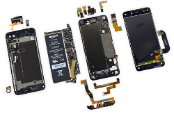 componenti smartphone per mobile forensics