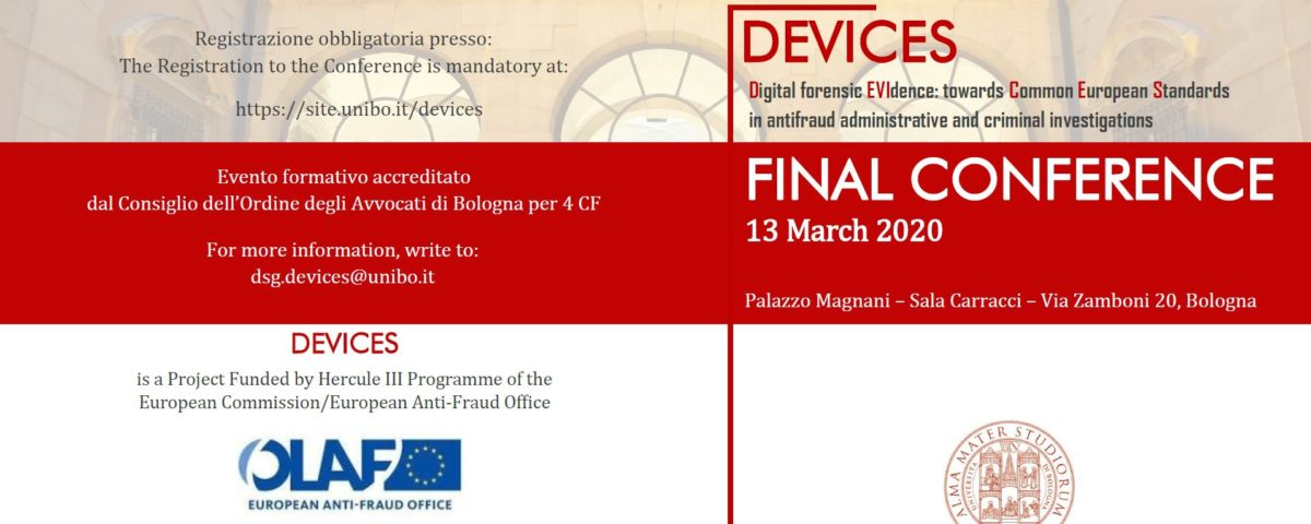 DEVICES digital forensic evidence
