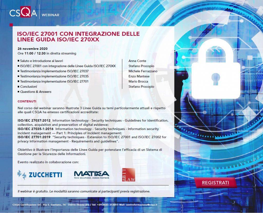 ISO 27001 CSQA